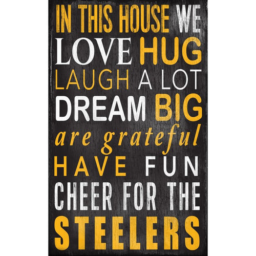 Steelers Baby Nursery Wall Art