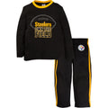 Steelers Long Sleeve Shirt and Pants Set (12M-4T)