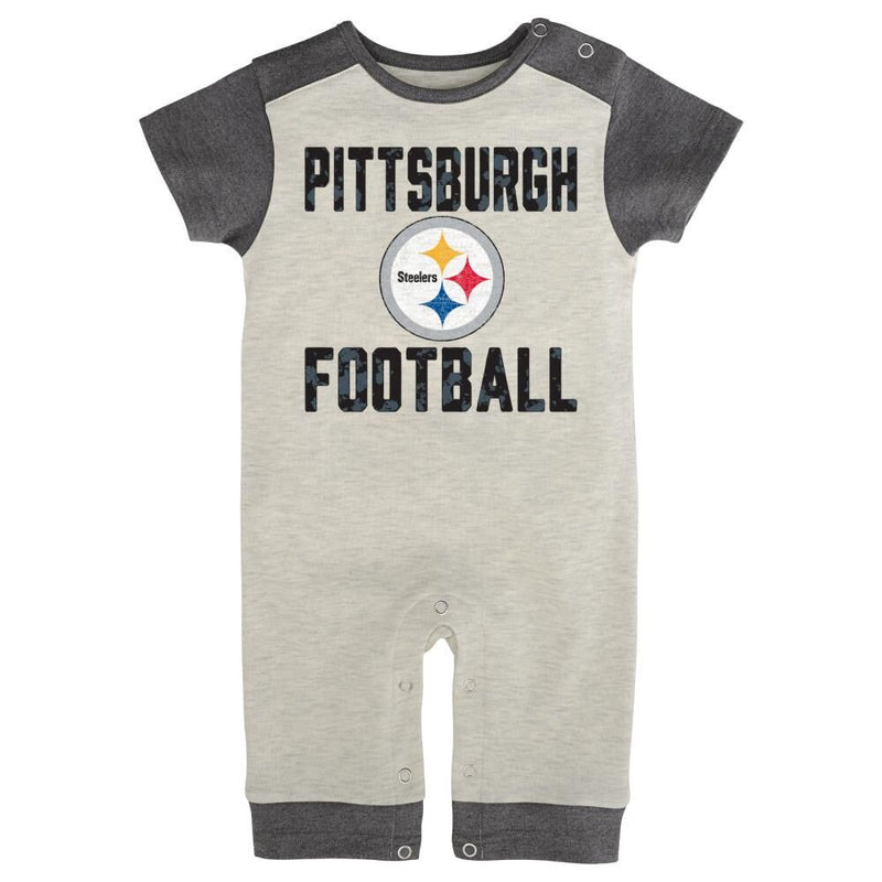 Steelers Vintage Style Baby Coverall
