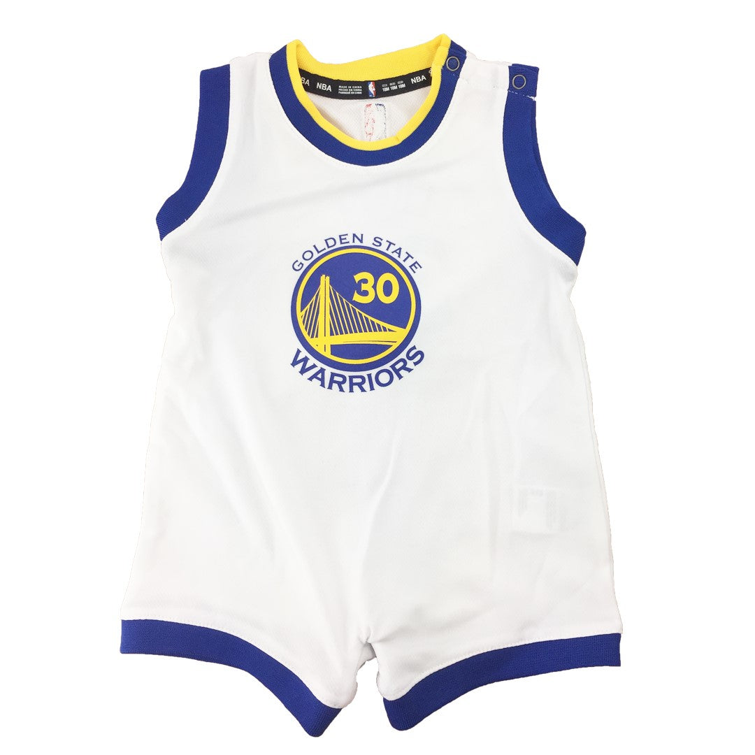 newest 22301 0229a Steph Curry Infant Jersey Romper