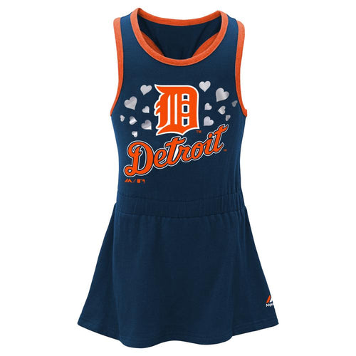 Tigers Girl Criss Cross Tank Dress