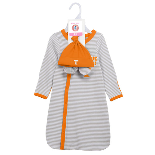 Tennessee Infant Gown, Cap and Booties
