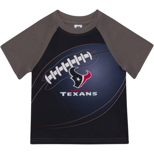 Texans Short Sleeve Football Tee
