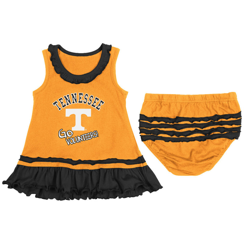 Vols Baby Ruffled Tank Dress