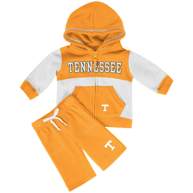Vols Baby Color Block Fleece Set