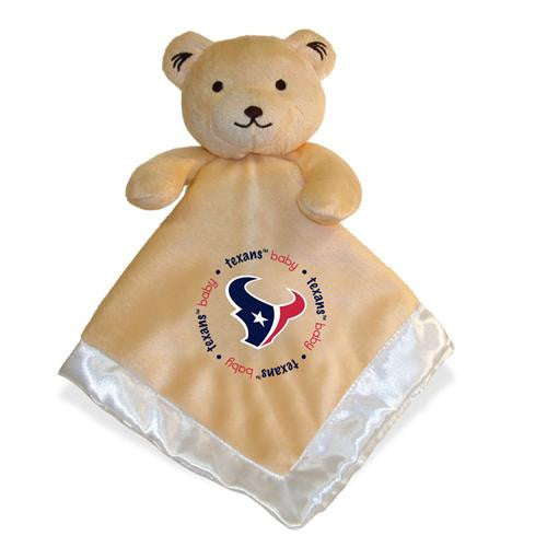 Embroidered Texans Baby Security Blanket