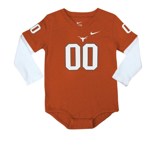 Infant Texas Jersey Romper