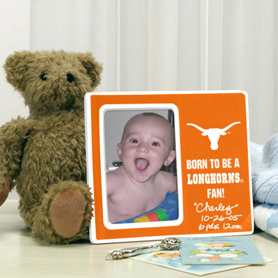 Born To Be a Long Horns Fan Picture Frame