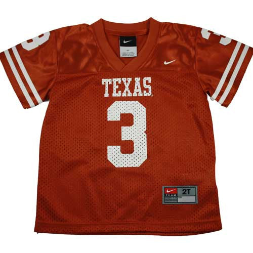 University of Texas Toddler Jersey