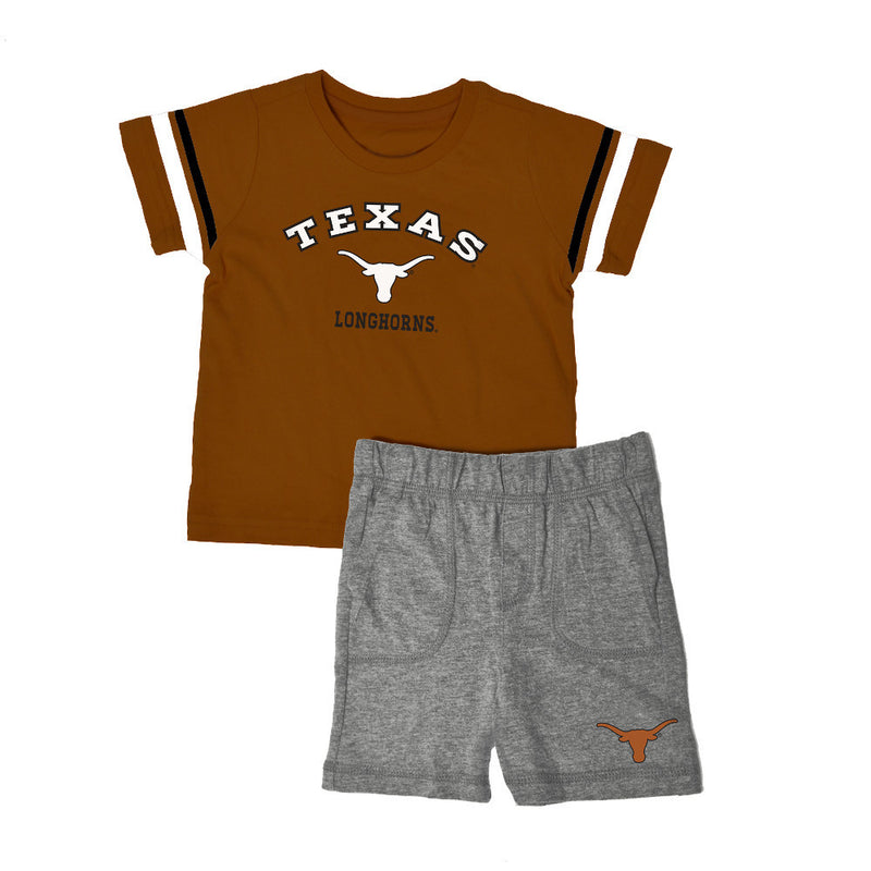 Texas Knit Tee Shirt and Shorts