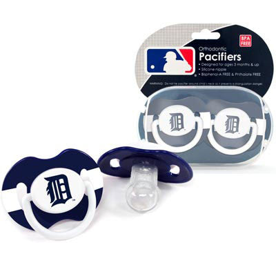 Detroit Tigers Baby Pacifiers