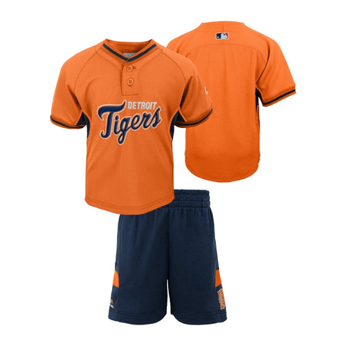 Detroit Tigers Home Run Shirt & Shorts Set