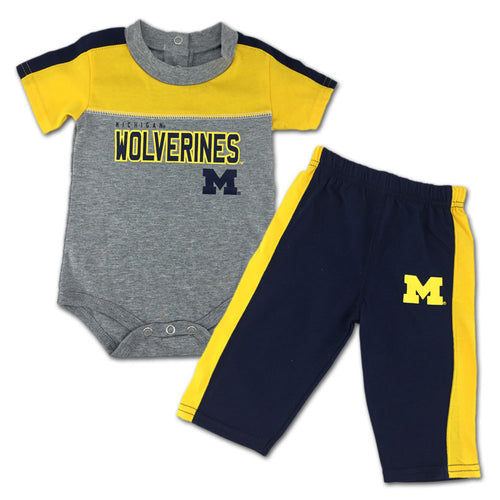 Wolverines Fan Playtime Creeper & Pants Outfit