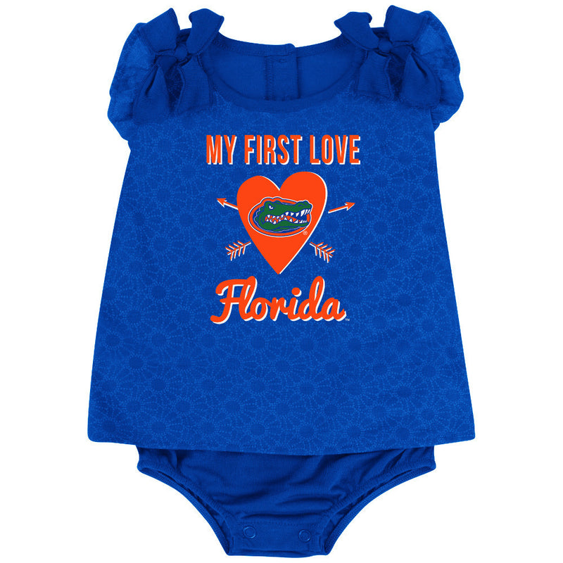 Gators Baby Girl My First Love Outfit