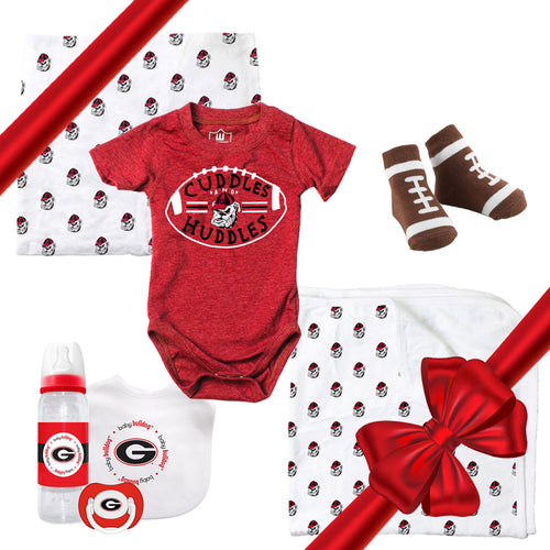 University of Georgia Baby Boy Gift Set