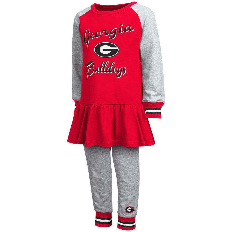 Bulldogs Girl Team Dress w/ Joggers