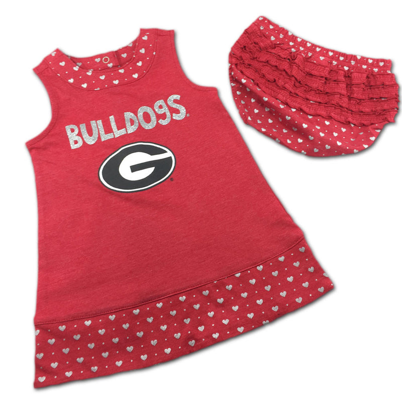 Georgia Spirited Heart Dress with Bloomers
