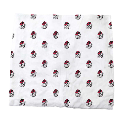 University of Georgia Organic Cotton Fitted Baby Crib Sheet