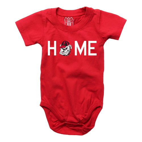 Georgia Bulldogs Home Pride Baby Bodysuit
