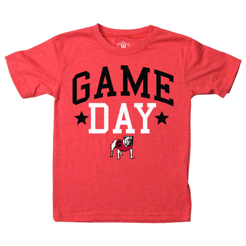 University of Georiga Toddler Game Day Tee