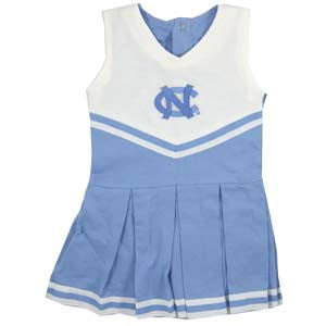 North Carolina Infant Cotton Cheerleader Dress