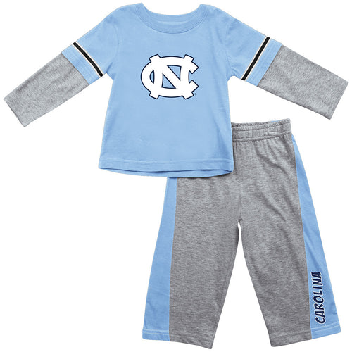 North Carolina Infant Long Sleeve Tee and Pants
