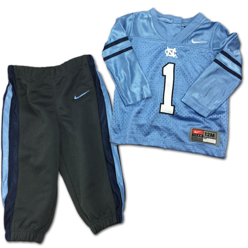 UNC Tarheel Jersey and Pant Set