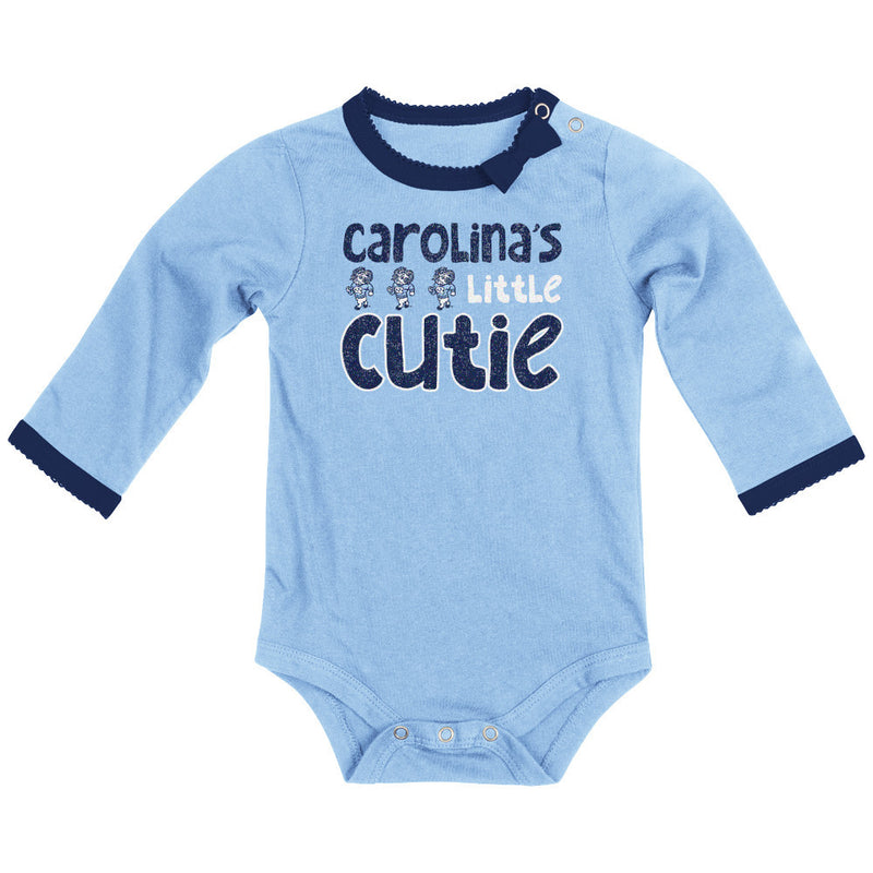 UNC Little Cutie Bodysuit