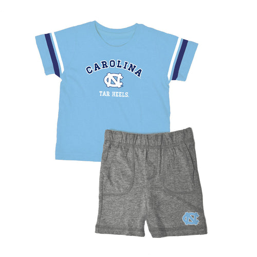 North Carolina Knit Tee Shirt and Shorts