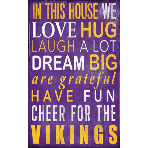 Vikings Baby Nursery Wall Art