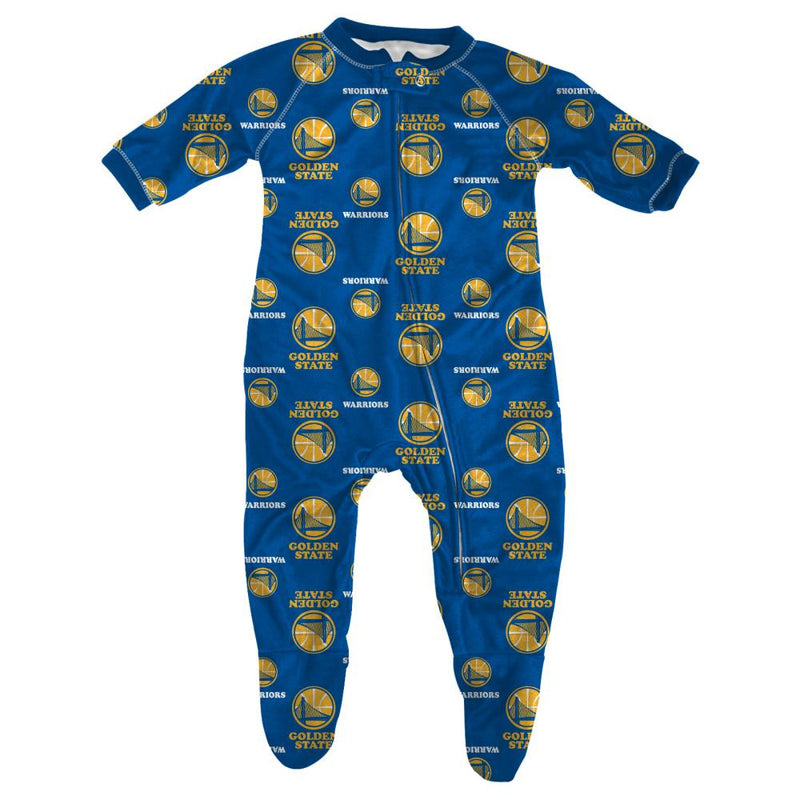 Warriors Infant Logo Sleeper