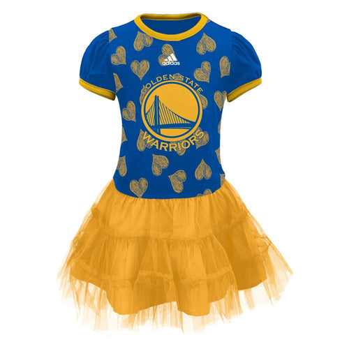 Warriors Basketball Tutu Dress