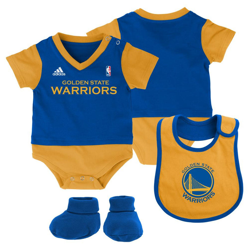 Warriors Baby Jersey Outfit