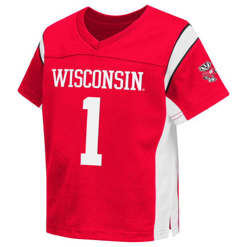 daf04508c9 Wisconsin Infant Long Sleeve Tee and Pants.  29.95. Badgers Official Kids  Jersey