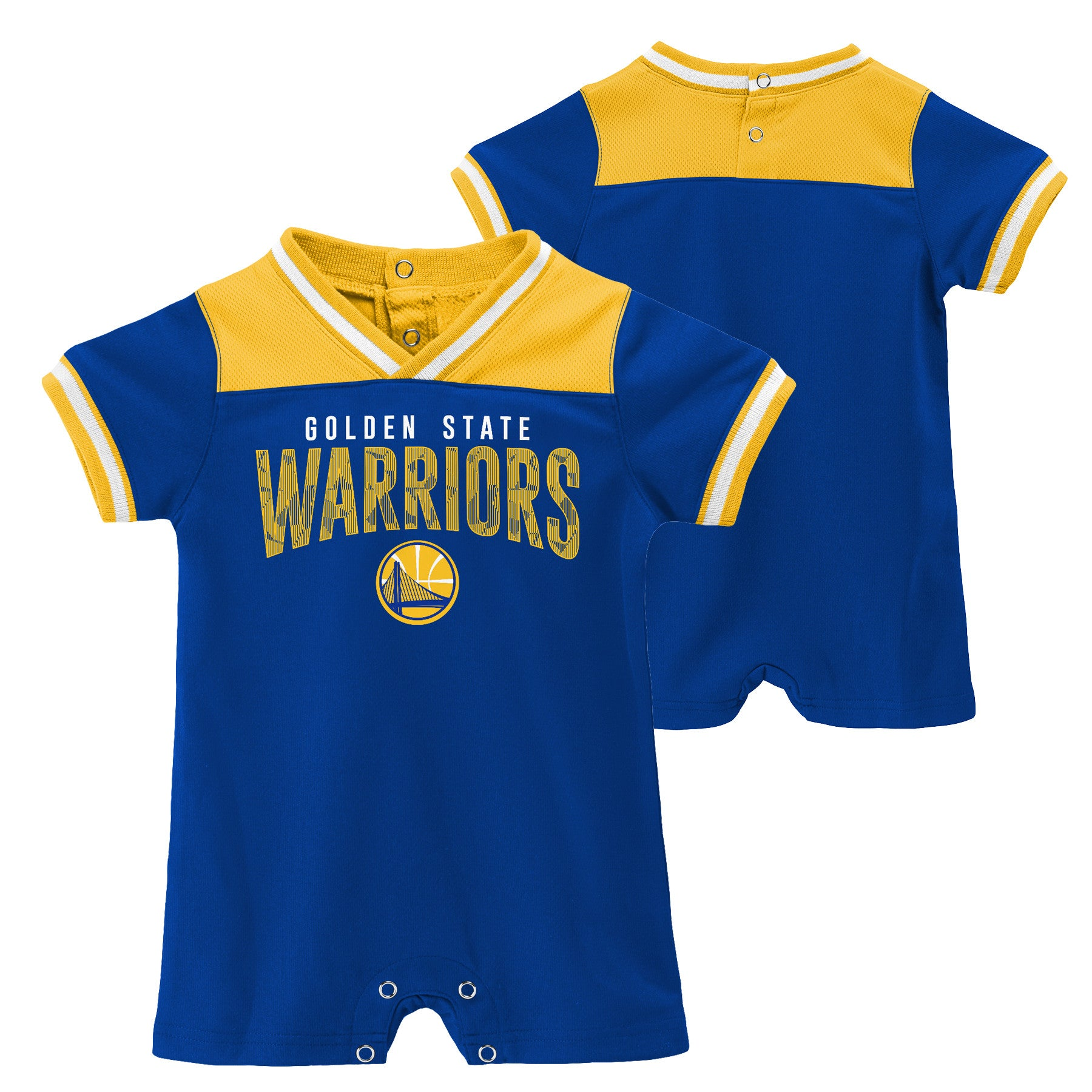 competitive price 4f1a7 8d256 Warriors Baby Ultimate Fan Romper