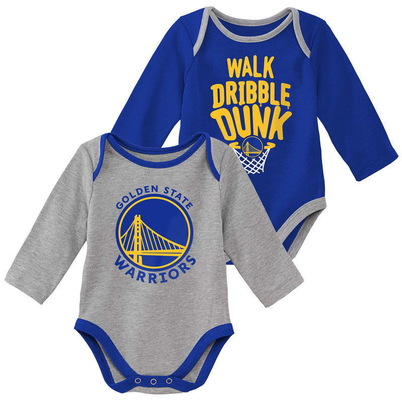 Warriors Long Sleeve Bodysuit Set