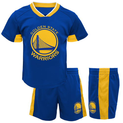 Warriors Performance Short Sleeve Shirt and Shorts Set