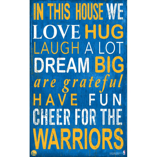 Warriors Baby Nursery Wall Art