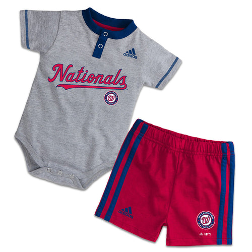 Nationals Baby Onesie with Shorts