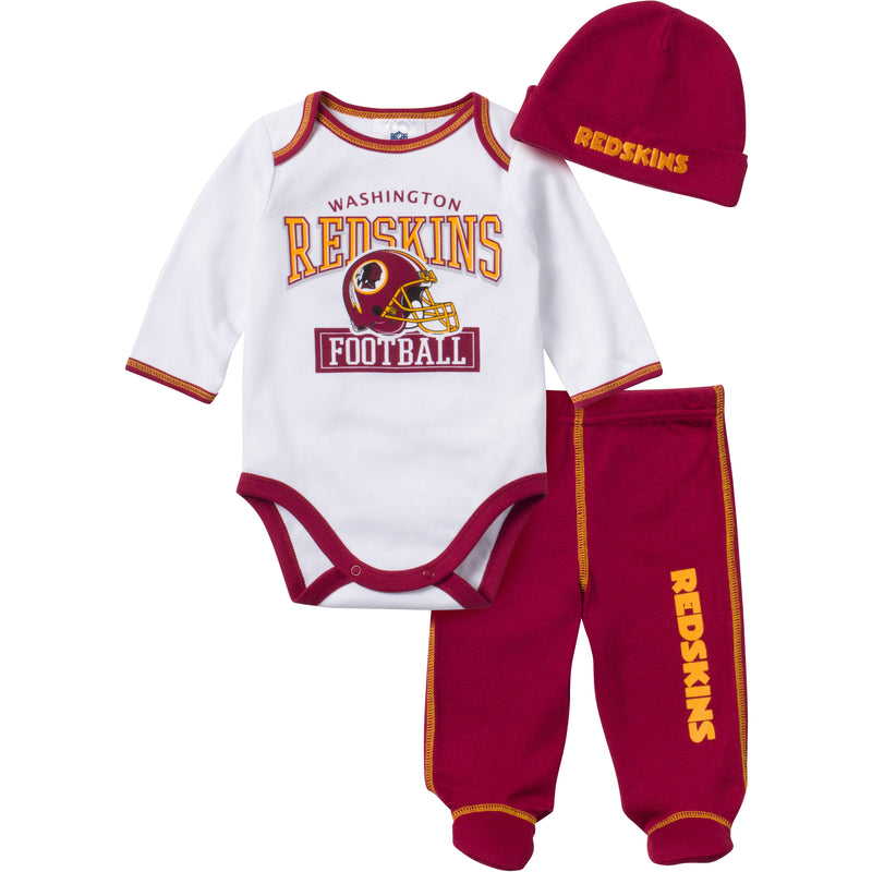 Baby Redskins Fan 3 Piece Outfit