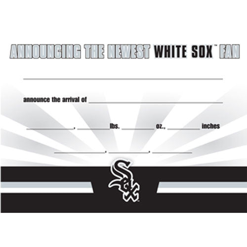 Official White Sox Birth Announcement