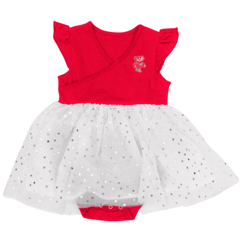 Wisconsin Baby Girl Tutu Bodysuit Dress