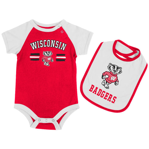 Badgers Baby Outfit