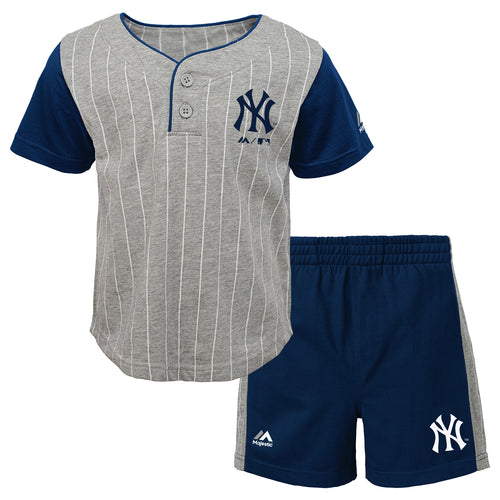 Yankees Bat Boy Short Set