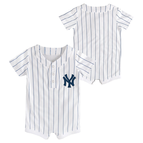 Yankees Newborn Home Team Jersey Romper