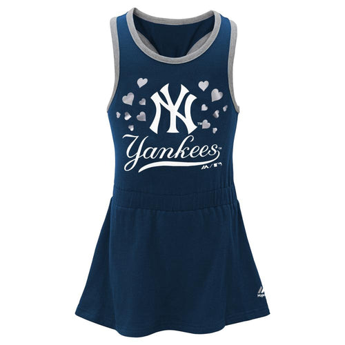 Yankees Toddler Girl Criss Cross Tank Dress