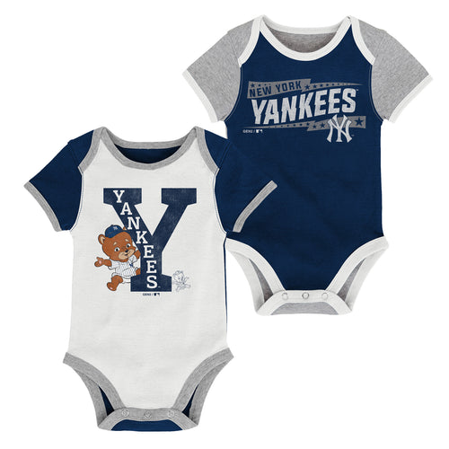 Yankees Baby Fan Team Spirit Bodysuits