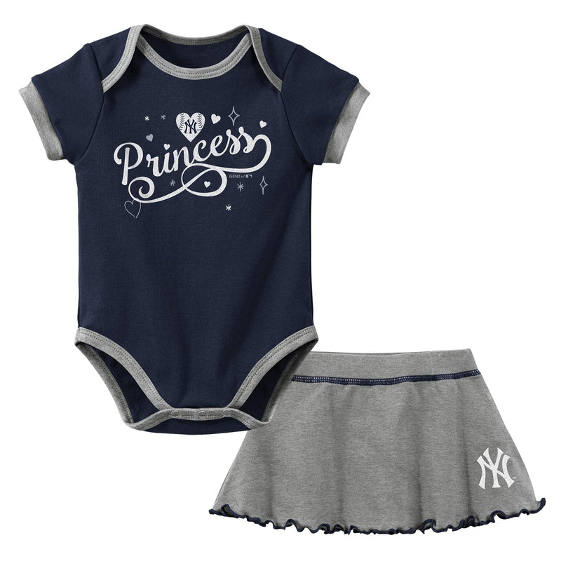 Yankees Princess Bodysuit & Skirt Set