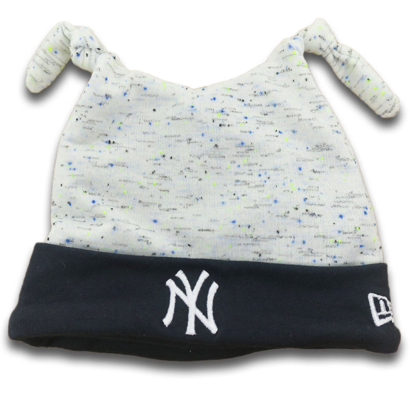 Yankees Newborn Speckled Beanie