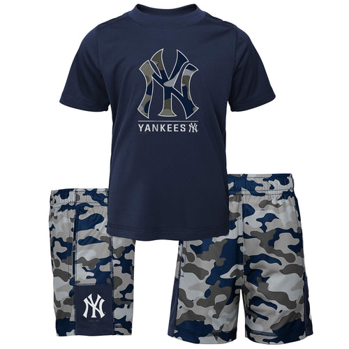 Yankees Camo Shirt and Shorts